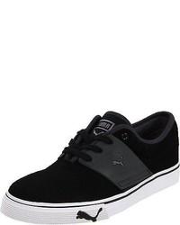 Puma El Ace Suede Fashion Shoes Athletic Sneakers Black