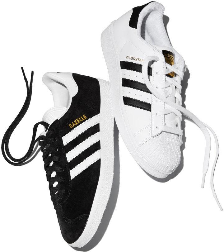 650208ce84 adidas Gazelle Original Suede Sneakers Blackwhite