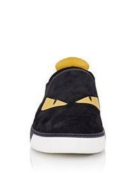 3a132d70 Fendi Spiked Buggies Slip On Sneakers, $700 | Barneys New York ...