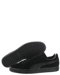 Puma Suede Classic Lfs 35632801 Black Casual Sneakers Shoes Medium