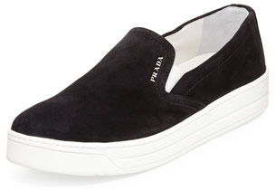 slip-on sneakers - Black Prada 01VYdgrmqb