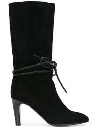 Chloé Tie Front Boots