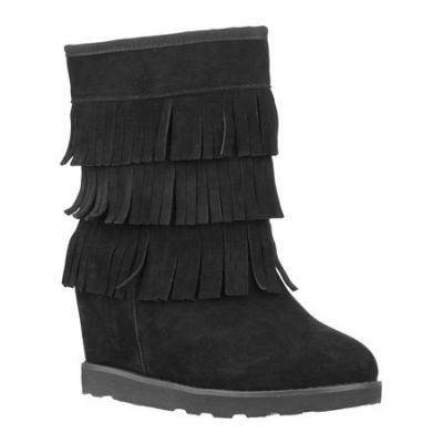 Lugz Wenona Black Suede Boots, $79