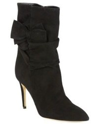 Kate Spade New York Nod Ruched Suede Mid Calf Boots