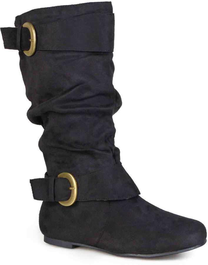 497702faef9e ... Journee Collection Shelley 12 Wide Calf Mid Rise Slouch Boots