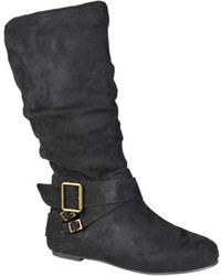 Journee Collection Shelley 6 Slouch Mid Calf Boot