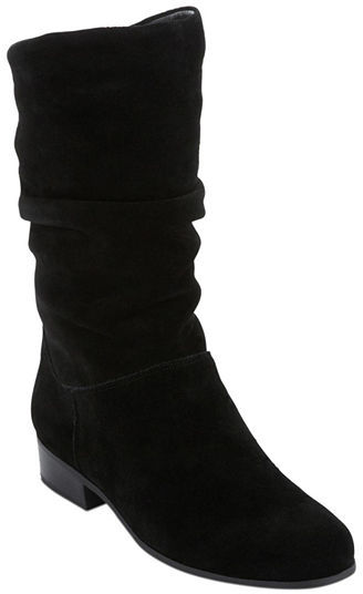 689a6f942ea7 ... jcpenney St Johns Bay St Johns Bay Jamie Suede Slouch Boots ...