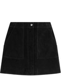 Black Suede Mini Skirts for Women | Women's Fashion