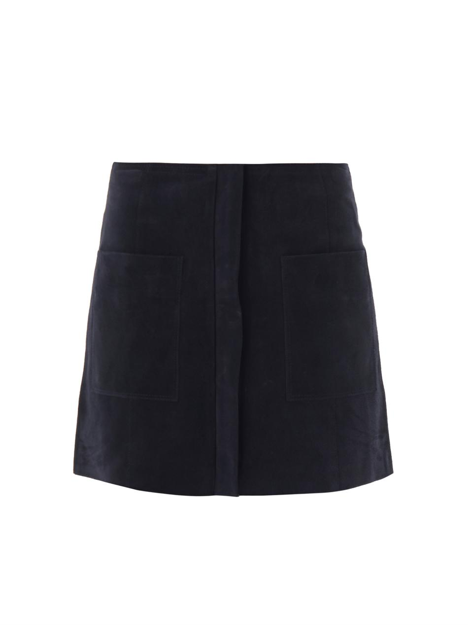 Isabel Marant Etoile Enna Suede Skirt | Where to buy u0026 How ...