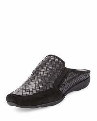 Sesto Meucci Galaxy Woven Comfort Mule Black