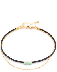 Lacey Ryan Double Turquoise Choker Necklace