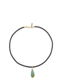 Vanessa Mooney Drop Choker Necklace