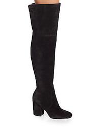 Via Spiga Beline Suede Over The Knee Boots