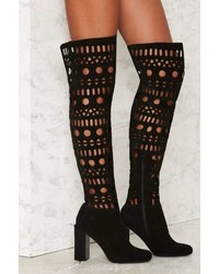 Jeffrey Campbell Doica Suede Boot