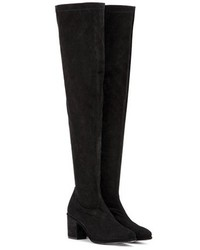 Opening Ceremony Marquee Suede Over The Knee Boots