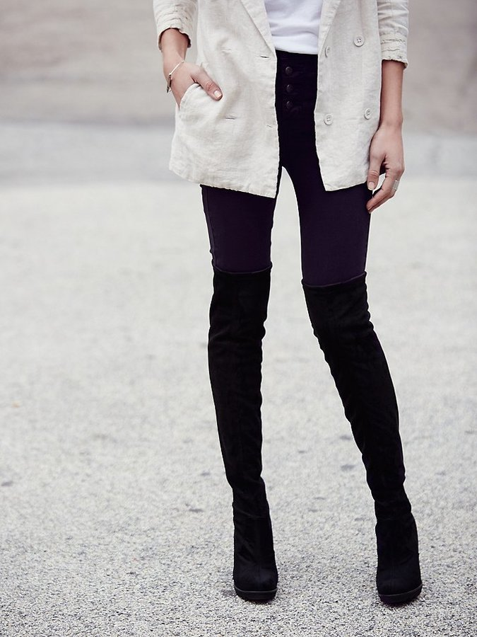 752fb9dcced Free People North Star Over The Knee Boot