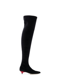 Gia Couture Over The Knee Sock Boots