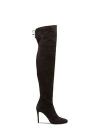 Prada Rear Lace Up Boots