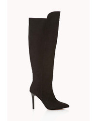 Forever 21 Sleek Over The Knee Boots