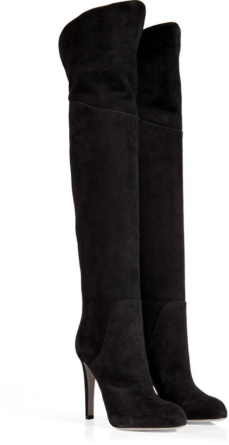 Sergio Rossi High Heel Boots suede zhEGXwv8rX
