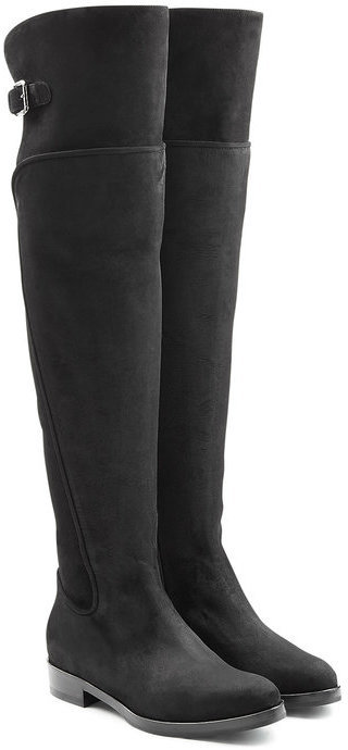 Dolce & Gabbana Suede Over The Knee Boots