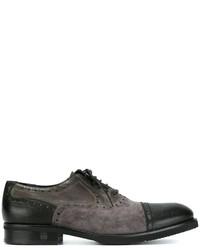 Baldinini Bicolour Oxford Shoes