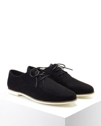 Forever 21 Faux Suede Oxfords