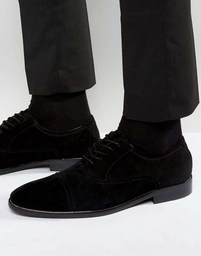 da98d5671ddf79 ... Black Suede Oxford Shoes Aldo Gaville Suede Oxford Shoes ...