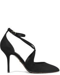 Dolce & Gabbana Bellucci Suede Pumps Black