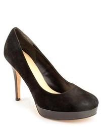 Cole Haan Mariela Air Black Suede Pumps Heels Shoes