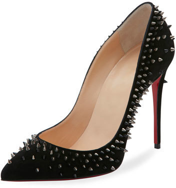 buy online fd5af 59e66 $1,095, Christian Louboutin Escarpic Spike 100mm Red Sole Pump