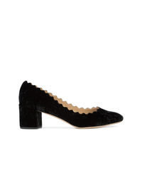 Chloé Lauren Velvet Pumps
