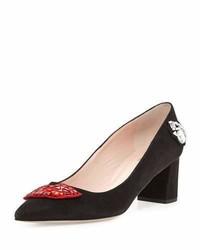 Kate Spade New York Misa Kisses Pointed Toe Pump Black