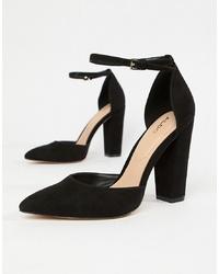 Aldo Nicholes Block Heel Court Shoes
