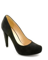 Nine West Cold Feet Black Suede Pumps Heels Shoes Newdisplay Uk 4