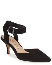 Olyvia suede pump medium 192004
