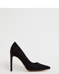 ASOS DESIGN Porto Pointed High Heeled Court Shoes In Black