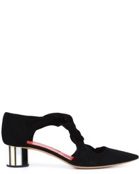 Proenza Schouler Twisted Strap Pumps