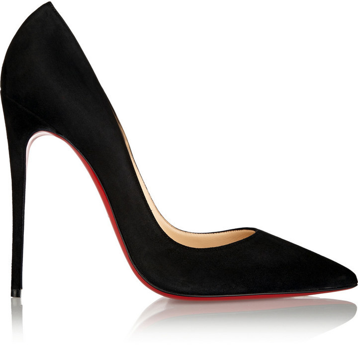 free shipping new cheap high quality Christian Louboutin So Kate 120 Suede Pumps fVhd1ZSn