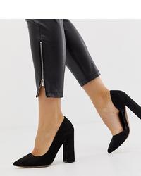 ASOS DESIGN Wide Fit Walter Dorsay High Heels In Black