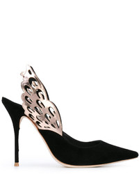 Sophia Webster Wings Motif Pointed Pumps