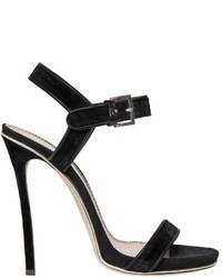 Dsquared2 120mm Velvet Suede Sandals