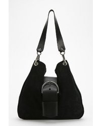 Dean B18 Suede Belt Shoulder Bag