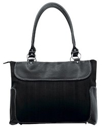 G Pacific Suede Business Computer Tote Black