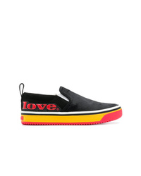 Marc Jacobs Love Mercer Slip On Sneakers