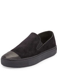 Vince Neda Cap Toe Slip On Sneaker Black