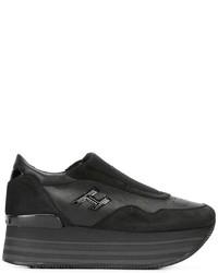 Hogan Platform Slip On Sneakers