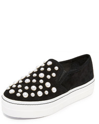 Alice + Olivia Sasha Pearls Slip On Sneakers