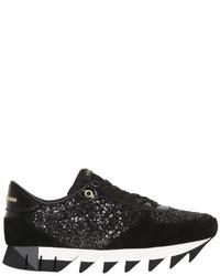 Dolce & Gabbana 20mm Capri Glitter Suede Sneakers