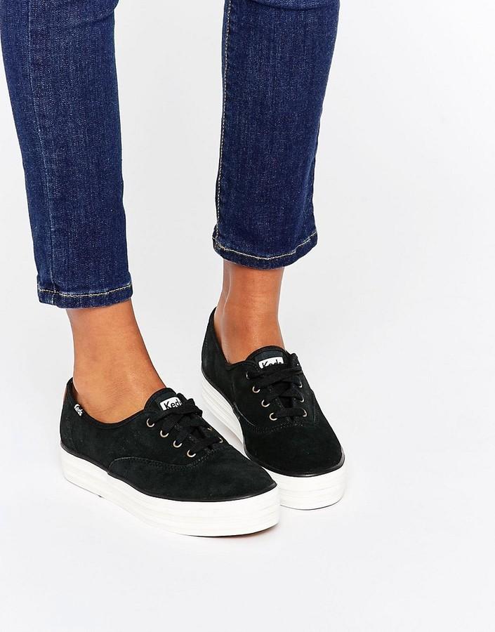 Keds 70s Suede Platform Sneakers, $76